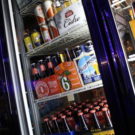 take out beer fridge